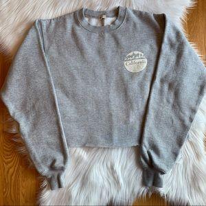 Women's John Galt California Gray Sweatshirt Small